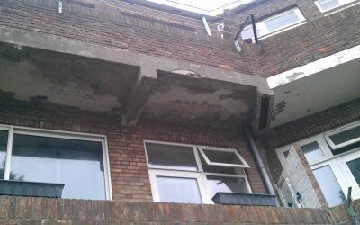 betonrot balkon