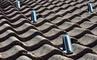 betonnen dakpannen