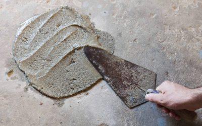 handmatig betonherstel