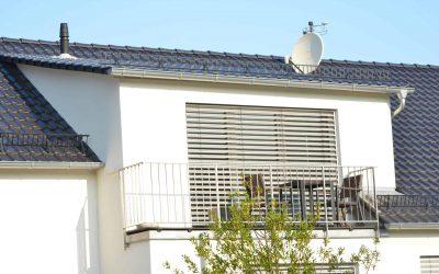 dakkapel met balkon