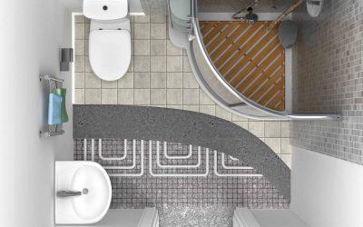 badkamer vloerverwarming
